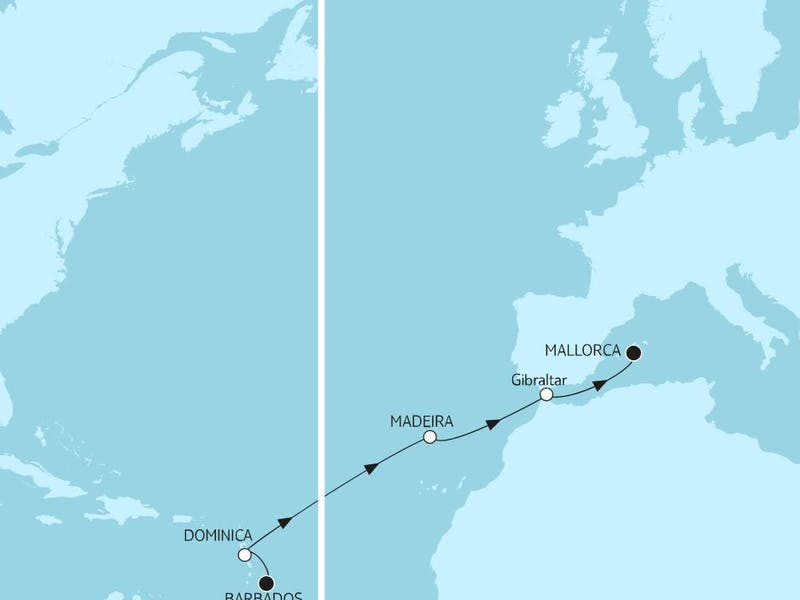 Barbados bis Mallorca I
