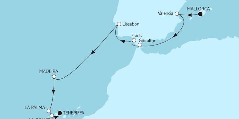 Mallorca bis Teneriffa I