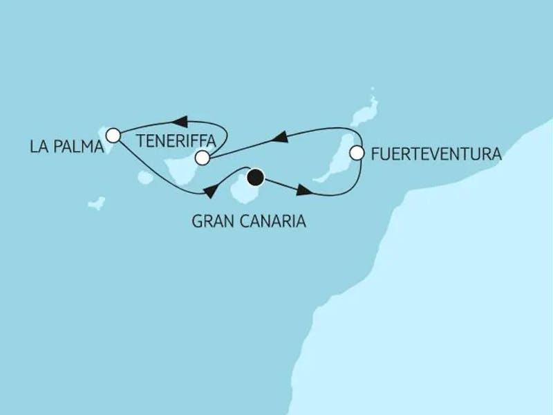 Blaue Reise - Kanarische Inseln 1