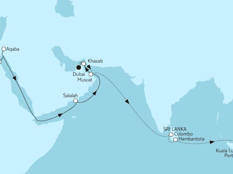 Weltentdecker-route I