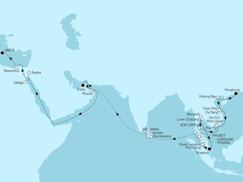 Weltentdecker-route II