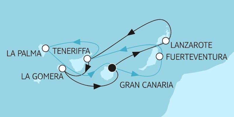 Blaue Reise - Kanarische Inseln 1 & 2